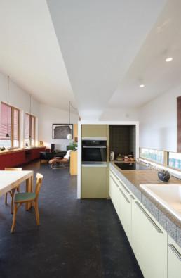 Aménagement cuisine séjour maison