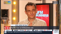 BFM tv Metiers d'art interview Paul Hoffmann