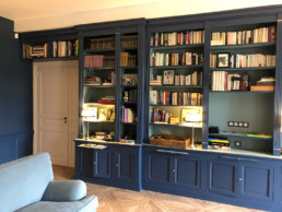 Bibliothèque du grand salon