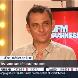 BFM tv Metiers d'art interview Paul Hoffmann
