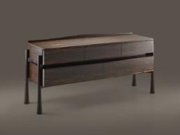 Commode 5 tiroirs - Ziricote-Paul Hoffmann