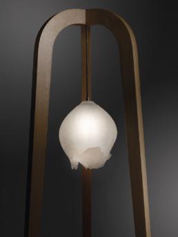 Lampe tripode Paul-Hoffmann-Florence-Lemoine