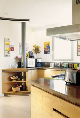 Maison contemporaine - cuisine