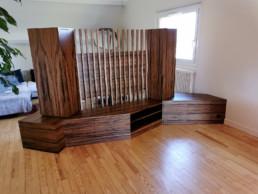meuble de séparation claustra Paul Hoffmann